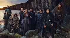 Arya Stark, Sandor Clegane, Hodor, Bran Stark, Lord Varys, Sansa Stark, Lord Baelish, Samwell Tarly, Jon Snow, Ygritte