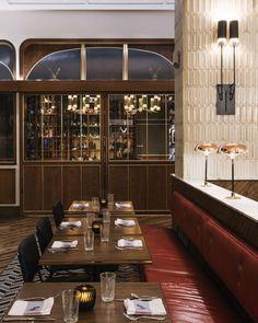 Photo © Parts and Labor Design. #restaurantdesign