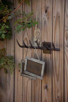 Cast Iron Rake Head 6 Hook Wall Rack - Marmalade Mercantile