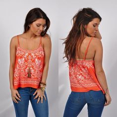 [[AVAILABLE ONLINE!]] Satisfy your craving for sweet prints with our Print Cami Top! Perfect with denim shorts for the warm weather that's soon to come! This top is available online for just $30! Head over to our website to order! #onlineShopping #ShopLocal #WomensClothing #Boutique #Love www.VirgoBoutique.com