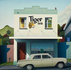 Tiger Tea -med by Hamish Allan - cards + artprints available from Image Vault Ltd