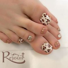 Nail And Toe Designs Idea Nail And Toe Designs. Here is Nail And Toe Designs Idea for you. Nail And Toe Designs toe polish designs mahrehorizonconsultingco. Nail And Toe Designs Pretty Toe Nails, Cute Toe Nails, Pretty Toes, Diy Nails, Cute Toes, Leopard Nail Art, Chevron Nails, Toe Nail Color, Bling Nails