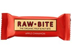 Rawbite Apple Cinnamon Energy Bar Organic Vegan and Gluten Free All Natural Fruit and Nut Bar  12 Bars per Case ** Want additional info? Click on the image. Note: It's an affiliate link to Amazon.