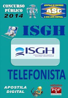 Apostila Concurso Publico ISGH CE Telefonista 2014