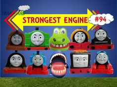 The World's STRONGEST ENGINE Trains #94 - Thomas and Friends for Children