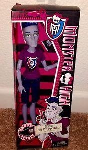 Monster High Ghoul Spirit Sloman Slo MO Mortavitch Boy | eBay