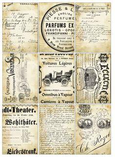 Sheet vintage text | Teksten & Spreuken | Nostalgie & Brocante