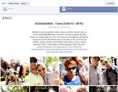 Peça: álbum Facebook  Projeto: Nike Corre  Cliente: Nike  Ano: 2012 Agência: LiveAD