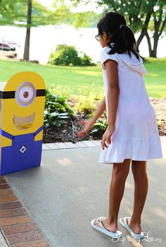 feed the minion party game #minion #party skiptomylou.org