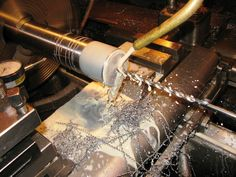 You are very unlikely to find any manufacturing field that doesn't use an automated CNC (Computer Numerical Control) machine. A CNC machine is a must. Machining Process, Numerical Control, Cnc Machine, Metal Working, How To Find Out, Home Improvement, Engineering, Things To Come, Carving