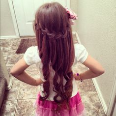 My little girl's hair