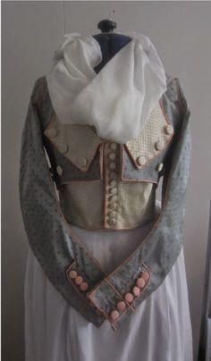 hertzwerk-freiburg: 1790s jacket from IMATEX