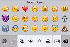 recent emojis
