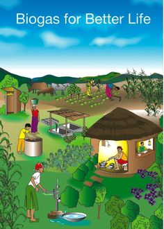 Biogas poster ~ Biogas Plant (Anaerobic Digester) Blog