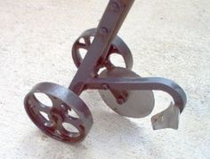 small hand plow