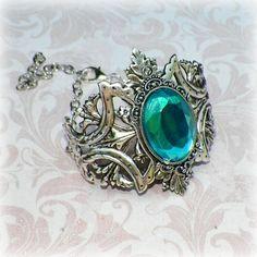 5 x STEAMPUNK clear diamond cut crystal glass buttons on silver tone shank GOTH