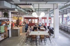 Co-working and maker space by Gort Scott, London – UK » Retail Design Blog