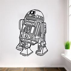 Star Wars Decal (R2-D2) Star Wars merchandise https://funstarwars.com/shop/star-wars-poster/star-wars-decal-r2-d2/ 10.95 Material: PVC Color:Shown as the pictures. Size:42*61.4cm.