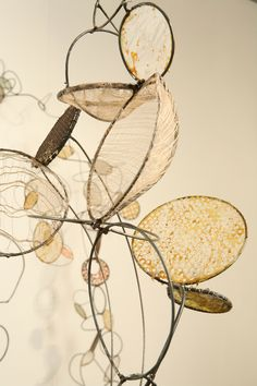 Contemporary Sculpture - detail of installation (Original Art from Rickie Wolfe)