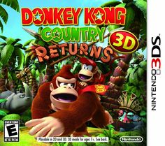 Amazon.com: Donkey Kong Country Returns 3D: Video Games