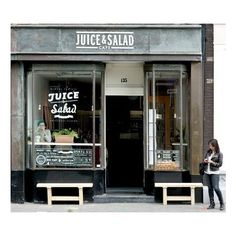 Juice&Salad Café ❤ liked on Polyvore featuring backgrounds and photos