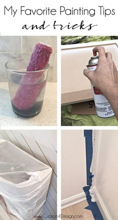 painting Tips - My Favorite Painting Tips and Tricks. painting Tips Tips And Tricks, How To Make Paint, How To Paint Walls, How To Paint Ceiling, Home Repairs, Interior Design Tips, Interior Shop, Interior Walls, Diy Painting
