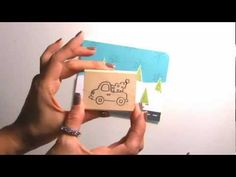 DeNami Snow Winter Truck VIDEO #christmas #washi