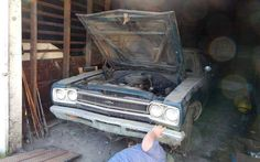 1968 Plymouth GTX Barn Find - http://barnfinds.com/1968-plymouth-gtx-barn-find/