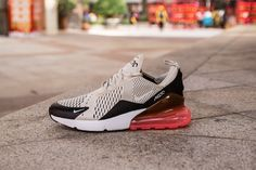 c16345fde29a Nike Air Max 270 AH8050-003 Cream Red Shoes for Sale-02 Dressed in