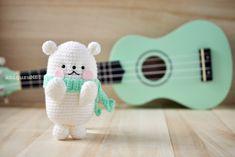 L'ours Bubblegum patron gratuit français amigurumi crochet ( free french pattern)