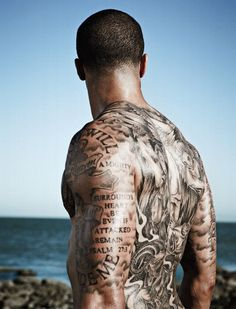 Colin Kapernick ~ ESPN Body Issue