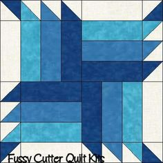 Buzz Saw Pattern Scrappy Color Fabric Easy Pre-Cut Quilt Blocks Top Kit