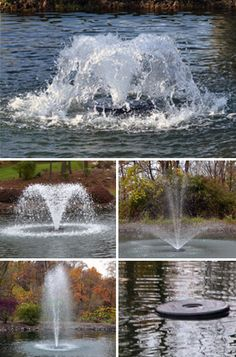 Otterbine Deluxe Fractional Series Fountain (Includes Lights & Quick Disconnect) - Natural Waterscapes