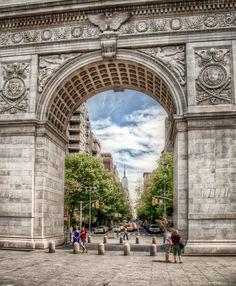 "Washington Sq. Park - NYC • ""Under The Arch"" by Ingo Meckmann on http://500px.com/photo/1929202"
