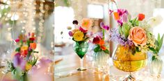 bright summer wedding pink and yellow wedding ideas Rose Wedding, Summer Wedding, Dream Wedding, Wedding Day, Wedding Stuff, Reception Table Decorations, Wedding Decorations, Bridal Flowers, Pink Flowers