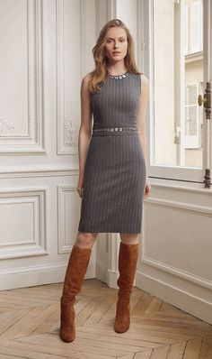 Fall 2016 | Filter | Lookbook | Etcetera Knit dress and boots