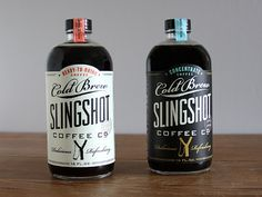 Slingshot Coffee | 34 Coolest Food Packaging Designs Of 2012