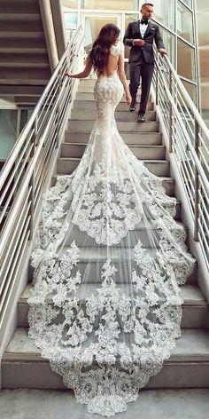 Vestidos de Noiva: Fotos Incríveis para Você Escolher o Seu Vestido!