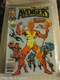 The Avengers #258 FIRELORD  VG+ to Fine+ range Direct Sales Comics  1985  graphic-illusion.com
