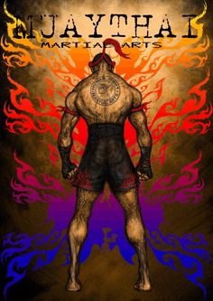 Muaythai Thai fighter No2