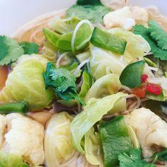 zumKochen: Frühstücks-Suppe grün-weiß
