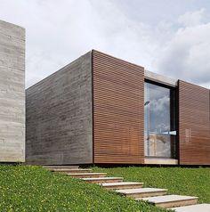 Casa Güths by ArqBr Arquitetura e Urbanismo #modernhomedesignexterior