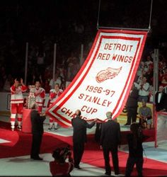 1997 Stanley Cup Champions Detroit Red Wings...1st year I watched a game & became a fan for life!