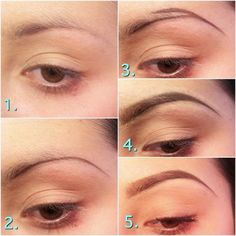 Amazing Brow Tutorial - this is kinda cool! Not sure my brows are thin enough to warrant doing this, but I may try it one day for the heck of it... :)