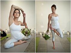 Unique Yoga Zen Bridal Shoot & Bachelorette Ideas