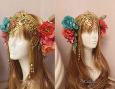 Faerie Queen Headdress by Firefly-Path