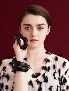 Child Star Photography - This child star photography series features actress Maisie Williams who fronts Dazed's latest issue. The Game of Thrones star is captured by ...
