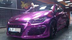 Meguiar's Cleaning Rieger Bodykit Vossen Wheels Chrome Purple Mirror Pink Volkswagen Scirocco from Turkey