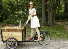 Icicle Tricycles Cold Brew Coffee Bike