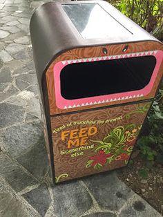 Bin begging u to feed it rubbish   Bins Ideas Public-Facilities Rubbish Singapore